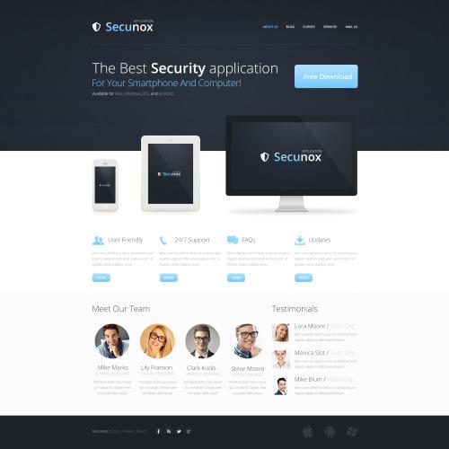 Secunox - HTML5 Drupal Template