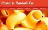 Italian Restaurant Facebook HTML CMS Template New Screenshots BIG
