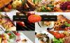 Modèle Moto CMS HTML  pour site de chef cuisinier New Screenshots BIG