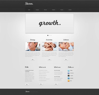 SEO Website Moto CMS HTML Template