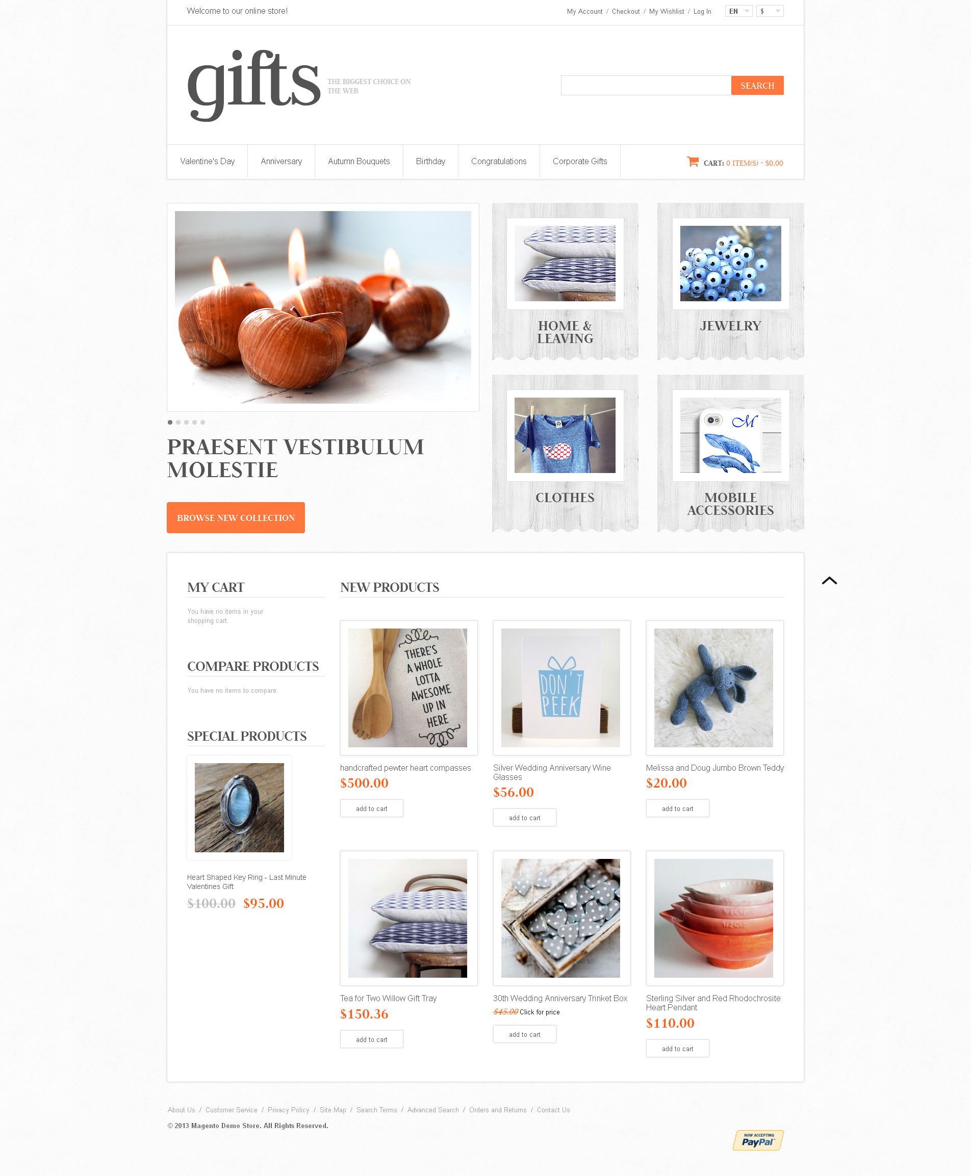 responsive gifts store magento theme 46336