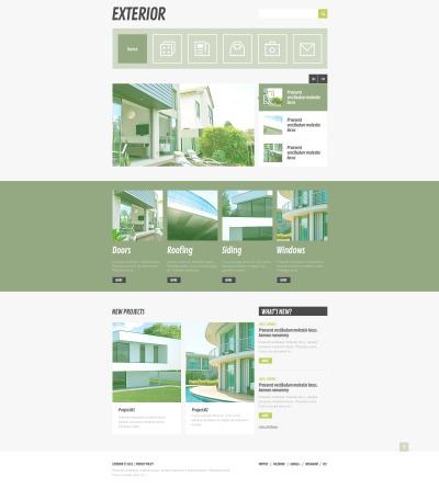 Responsywny szablon strony www #46353 na temat: projektowanie ogrodów