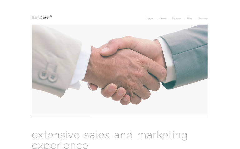 Smooth Marketing Agency WordPress Theme