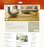 Furniture Moto CMS HTML  Template 46411