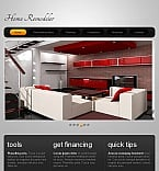 Furniture Facebook HTML CMS  Template 46426