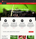 Agriculture Website  Template 46443