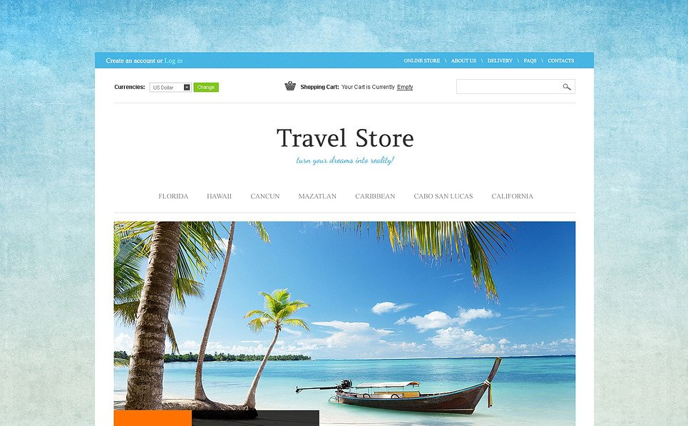 VirtueMart Vorlage für Reiseshop  New Screenshots BIG
