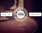 Music Moto CMS HTML  Template 46462
