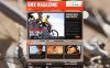 Premium Moto CMS HTML-mall för BMX New Screenshots BIG
