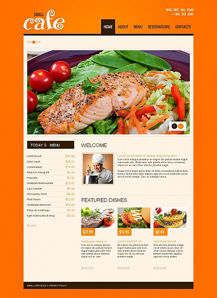 Website Template #46471