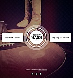 Music Facebook HTML CMS  Template 46480