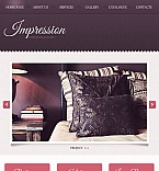 Furniture Facebook HTML CMS  Template 46481