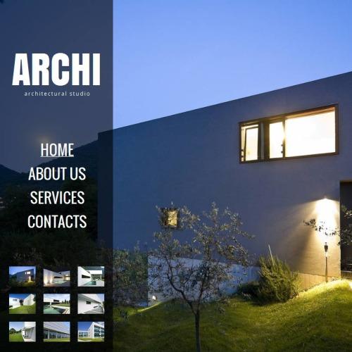 Archi - Facebook HTML CMS Template