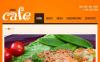 Facebook HTML CMS Vorlage für Café  New Screenshots BIG