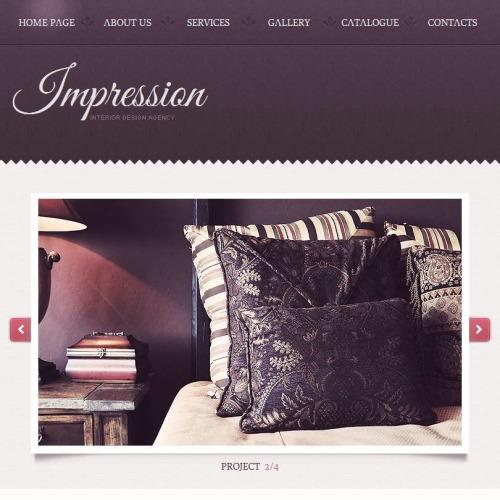 Impression - Facebook HTML CMS Template