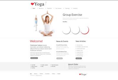 Yoga Moto CMS HTML šablona
