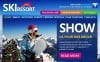 Skiing Facebook HTML CMS Template New Screenshots BIG