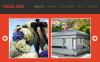 Szablon Facebook HTML CMS #46482 na temat: usługi pogrzebowe New Screenshots BIG