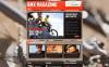 Template Moto CMS HTML  #46468 per Un Sito di BMX New Screenshots BIG