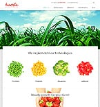 Agriculture Website  Template 46508