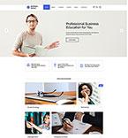 Education Website  Template 46509