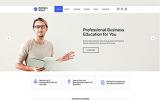 Responsivt Business School - E-learning Multipage HTML Hemsidemall