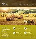 Agriculture Website  Template 46511