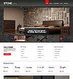 Furniture Website  Template 46519