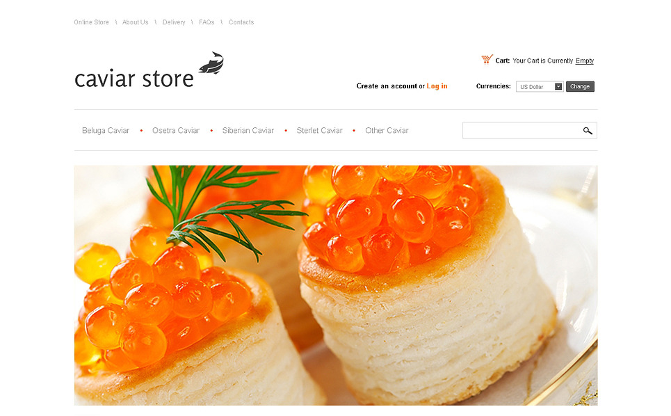 Template VirtueMart para Sites de Loja de comida №46520 New Screenshots BIG
