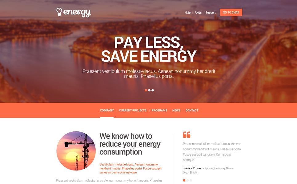 Responzivní Šablona webových stránek na téma Osvětlení a elektřina New Screenshots BIG