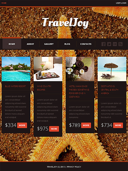 Joomla Theme/Template 46534 Main Page Screenshot