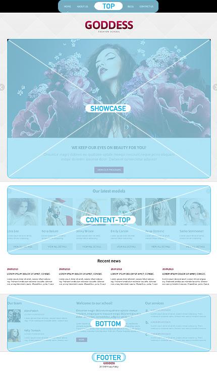 Joomla Theme/Template 46535 Main Page Screenshot