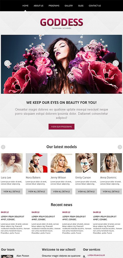 Joomla Theme/Template 46535 Main Page Screenshot