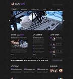Music Joomla  Template 46536