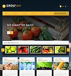 Agriculture WordPress Template 46545