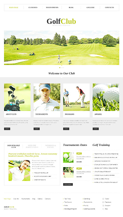 WordPress Theme/Template 46546 Main Page Screenshot