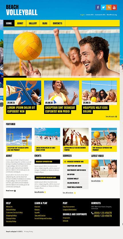 WordPress Theme/Template 46547 Main Page Screenshot