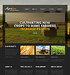 Agriculture Website  Template 46550