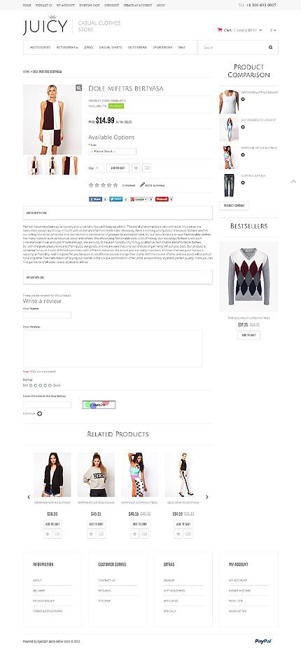 ADOBE Photoshop Template 46559 Home Page Screenshot