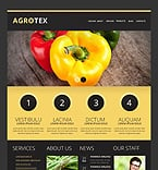 Agriculture Drupal  Template 46566