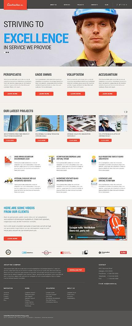 WordPress Theme/Template 46569 Main Page Screenshot