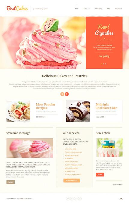 WordPress Theme/Template 46571 Main Page Screenshot
