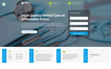 Responsivt Smile - Dentistry Responsive Multipage HTML Hemsidemall