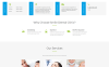 Smile - Dentistry Responsive Multipage HTML Website Template Big Screenshot