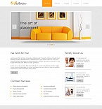 Furniture Moto CMS HTML  Template 46584