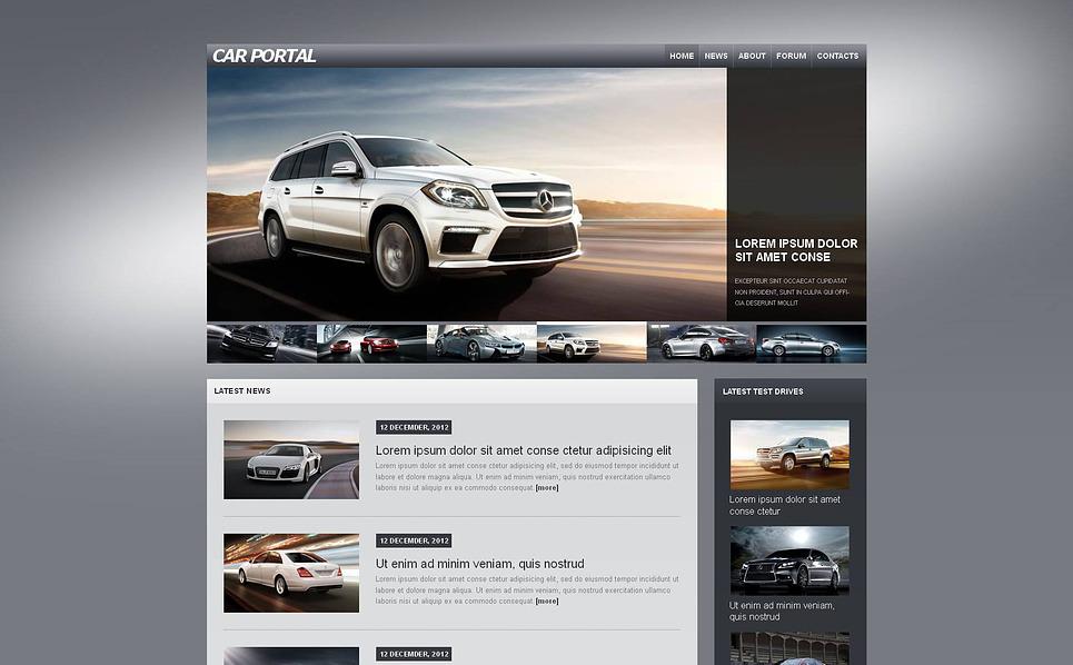 Szablon Moto CMS HTML #46594 na temat: klub motoryzacyjny New Screenshots BIG