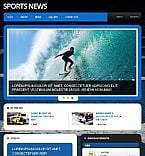 Sport Facebook HTML CMS  Template 46599
