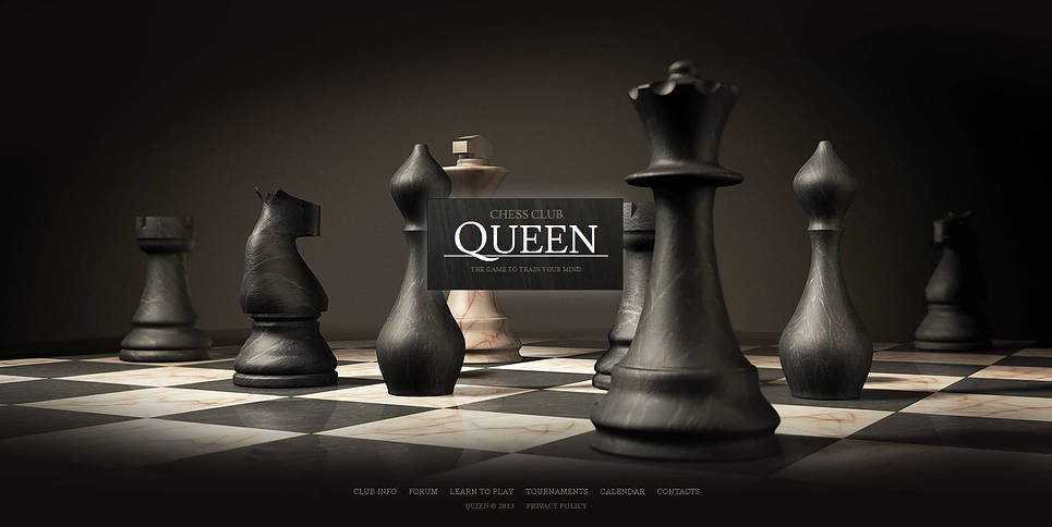 Chess Moto CMS HTML Template New Screenshots BIG