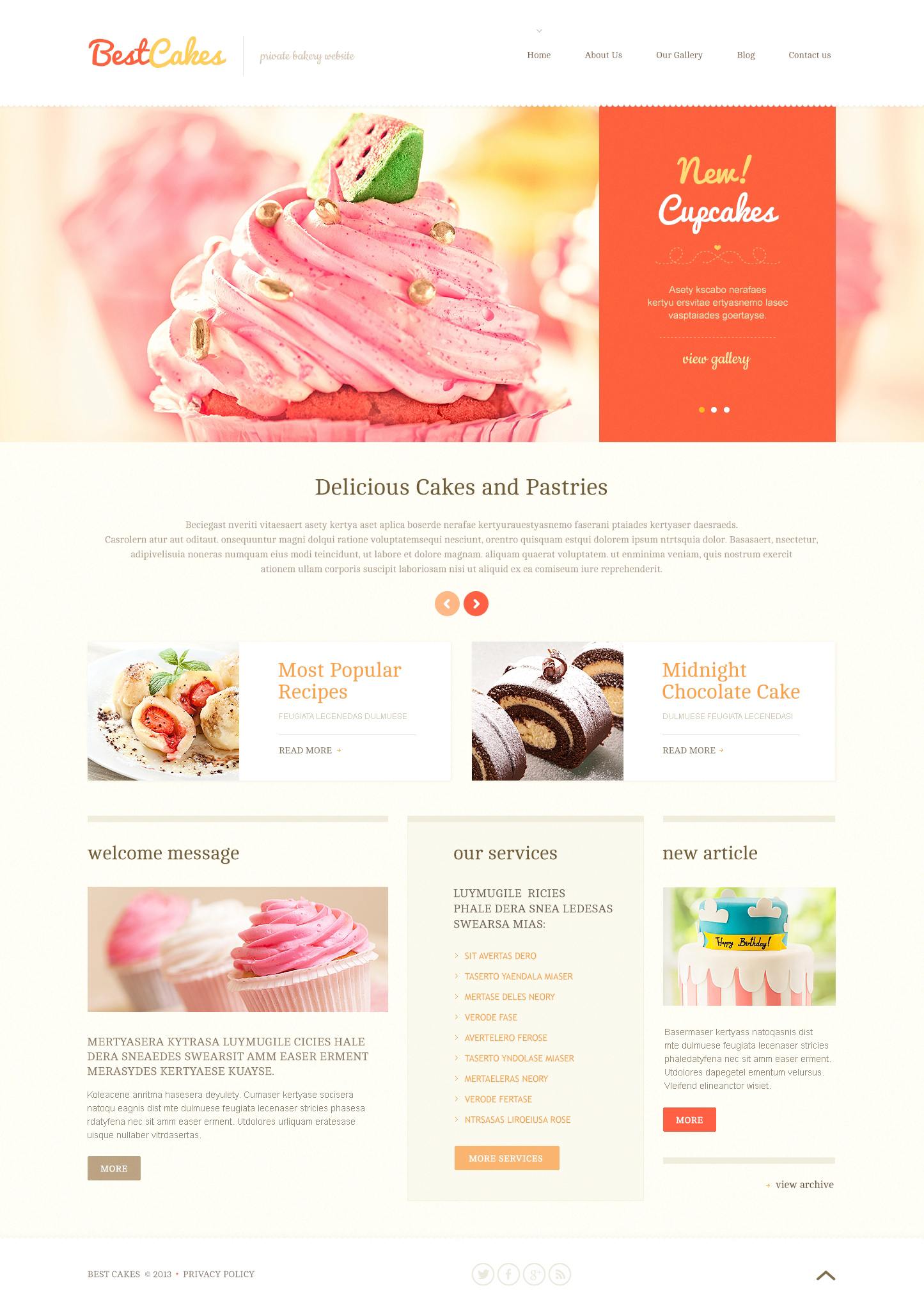 Sweet Shop Wordpress Themes 2019 Templatemonster