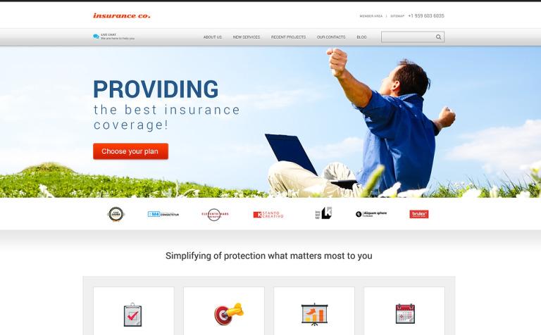 Insurance with Benefits WordPress Theme